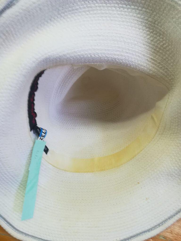 つば付き帽子クリーニング