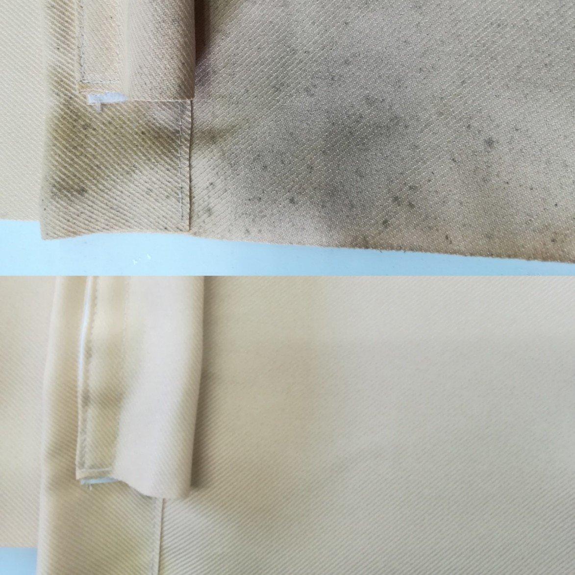 カーテンのカビ取りクリーニング